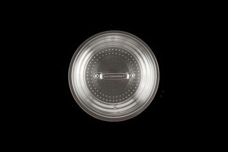 Dampfgarer Aus Edelstahl Multifunktionsdampfer-Set Instant-Topfzubeh/ör Mit Deckel Und Griff CLQ Multifunktionales Dampfgitterset Zubeh/örset F/ür Schnellkocht/öpfe